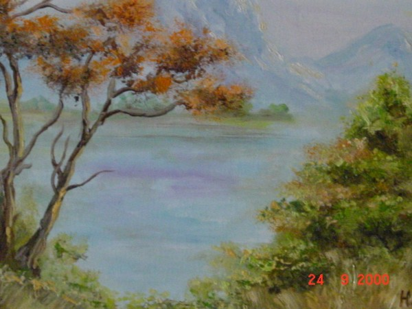 2.) Landschaft in Zimbabwe / Landscape in Zimbabwe